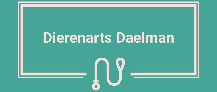 Dierenarts Daelman